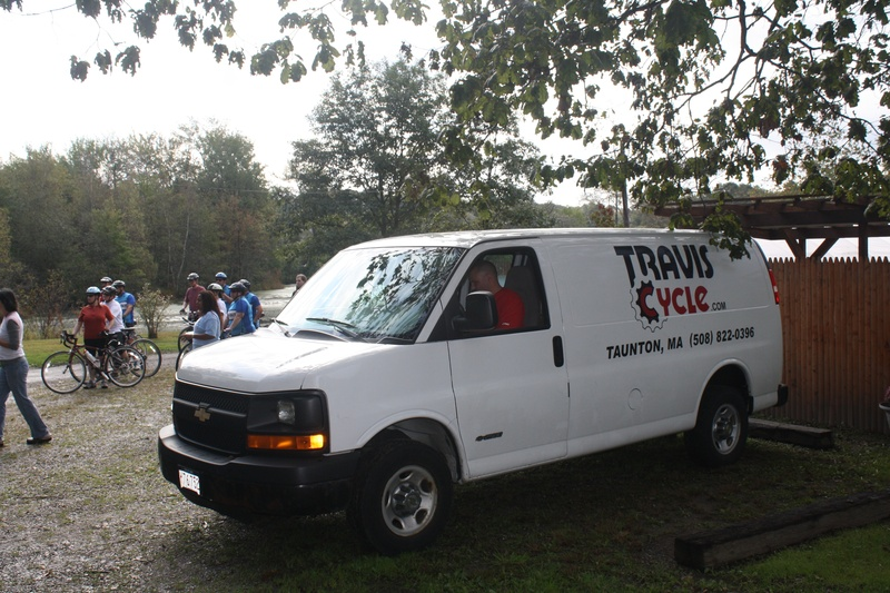 Sag Wagon provided by Travis Cycle